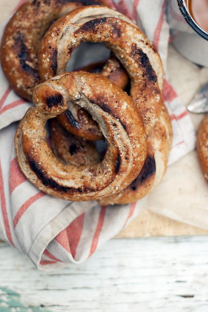 Whole Wheat Za'atar Bagels