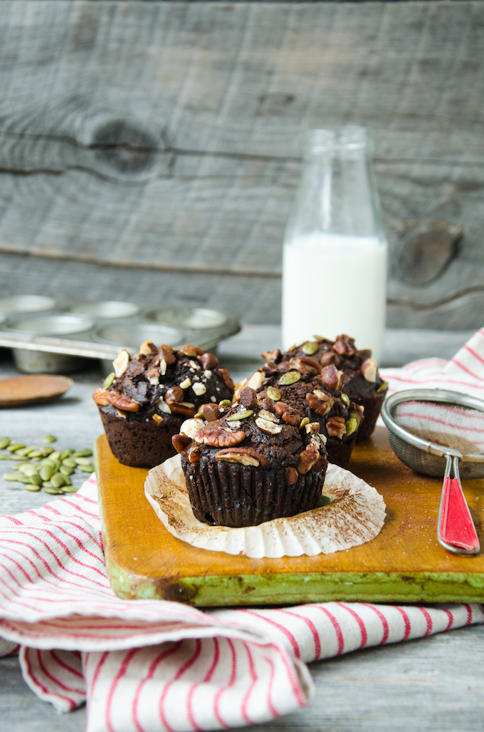 Healthy Recipe: Whole Wheat Chocolate Beet Muffins