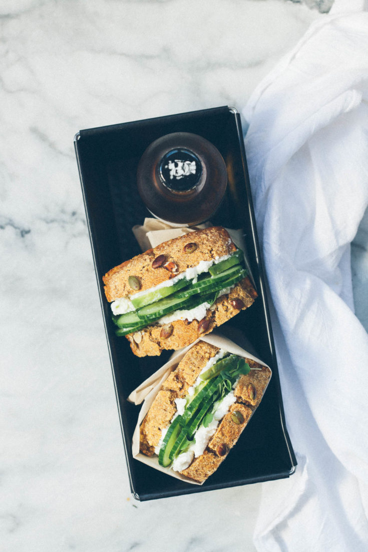 Pumpkin Millet Sandwich Bread (vegan)