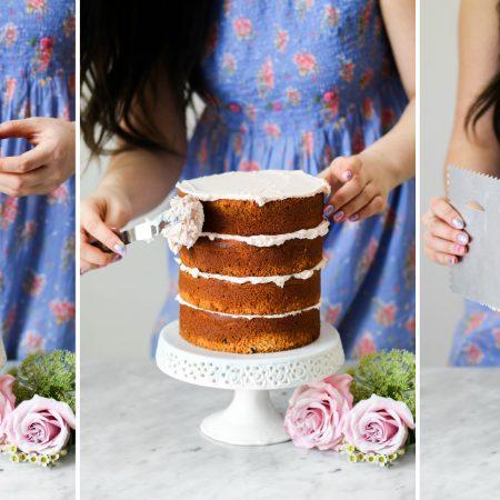 Naked Cake Tutorial - Baked the Blog