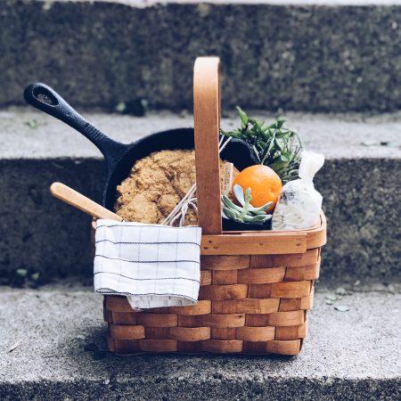 Skillet Cornbread gift basket