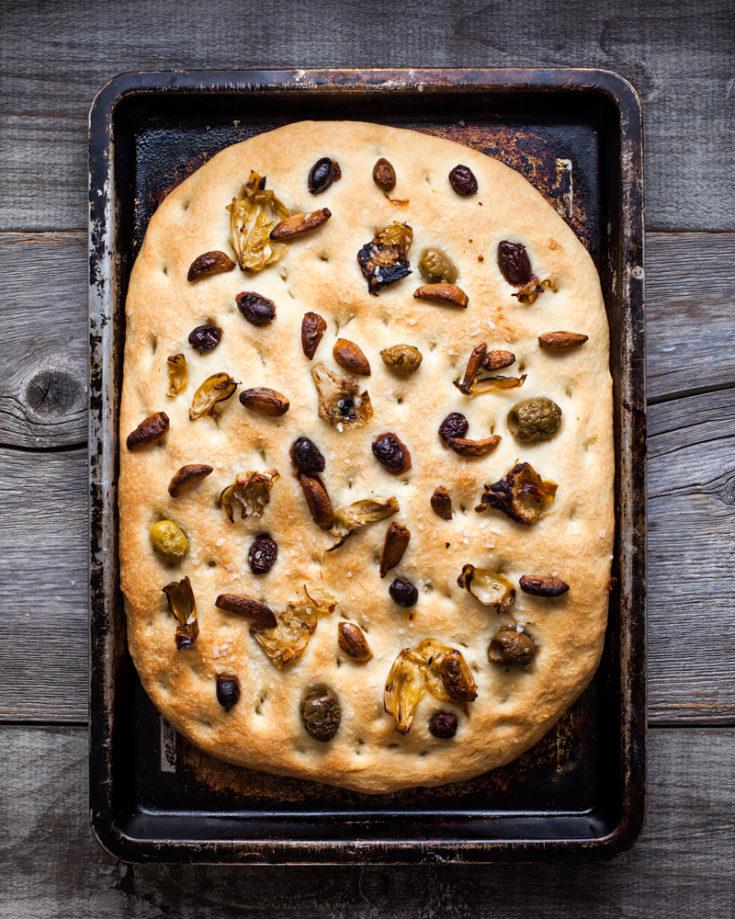 Easy Focaccia Bread Recipe 40 Focaccia Topping Ideas Baked